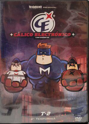 SALDO - DVD CALICO ELECTRONICO 2ª TEMPORADA