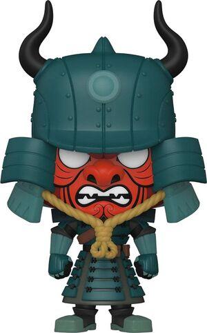 SAMURAI JACK POP! ANIMATION VINYL FIGURA ARMORED JACK 9 CM - CHASE