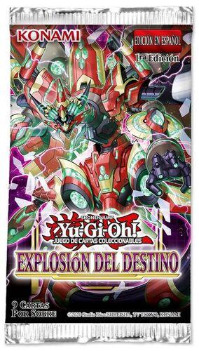 YU-GI-OH: EXPLOSIÓN DEL DESTINO SOBRE