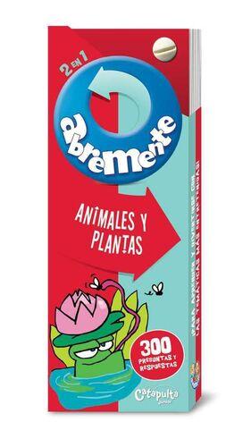 ABREMENTE 2 EN 1: ANIMALES Y PLANTAS